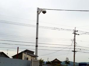 某屋外資材置場 屋外警戒システム(i-NEXT・NEXT等)の導入事例